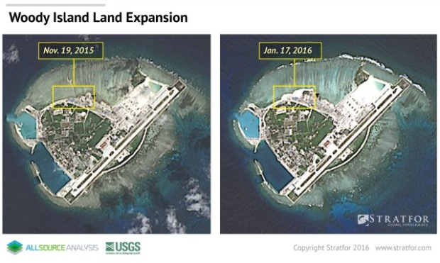 A Glimpse Into China's Military Presence in the South China Sea 2