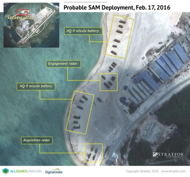 A Glimpse Into China's Military Presence in the South China Sea 3