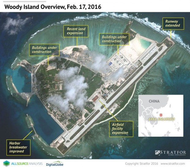 A Glimpse Into China's Military Presence in the South China Sea
